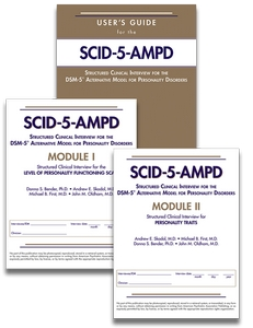 Set of Users Guide for SCID-5-AMPD SCID-5-AMPD Module I and SCID-5-AMPD Module II