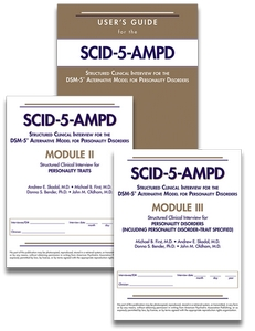 Set of Users Guide for SCID-5-AMPD SCID-5-AMPD Module II and SCID-5-AMPD Module III