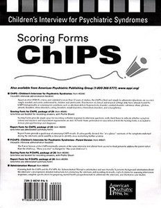 Scoring Forms for ChIPS
