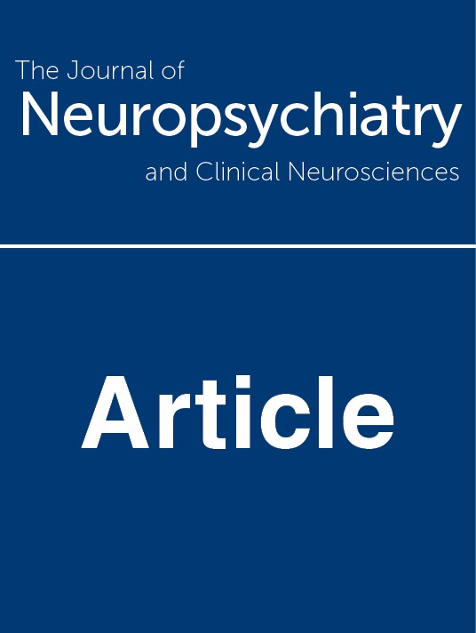 Journal of Neuropsychiatry and Clinical Neurosciences Pay Per View Subscription